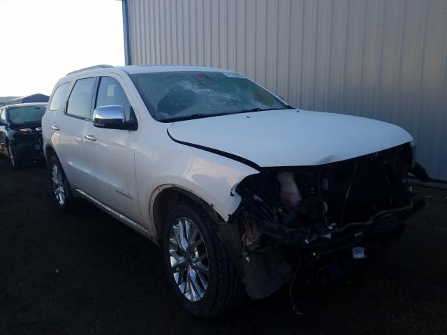 Salvage cars for sale from Copart Helena, MT: 2014 Dodge Durango CI