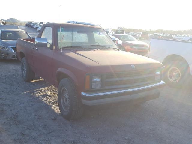 Dodge salvage cars for sale: 1989 Dodge Dakota