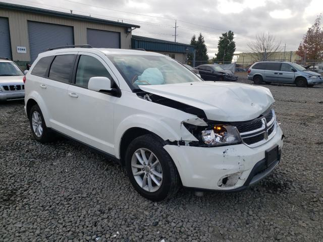 Salvage cars for sale from Copart Eugene, OR: 2017 Dodge Journey SX