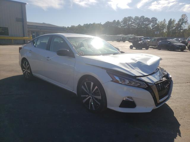 Salvage cars for sale from Copart Lufkin, TX: 2020 Nissan Altima SR