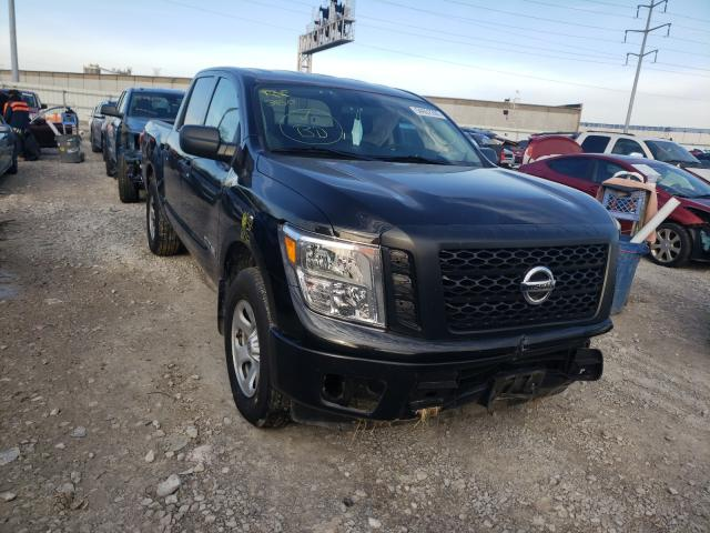 Salvage cars for sale from Copart Columbus, OH: 2017 Nissan Titan