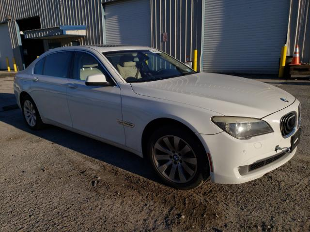 BMW 750 LI XDR salvage cars for sale: 2010 BMW 750 LI XDR