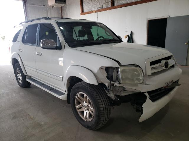 Toyota Sequoia LI salvage cars for sale: 2007 Toyota Sequoia LI
