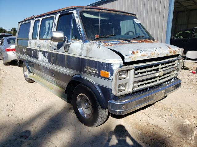Chevrolet salvage cars for sale: 1986 Chevrolet G20