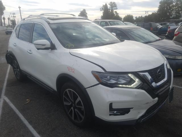 Salvage cars for sale from Copart Van Nuys, CA: 2018 Nissan Rogue S