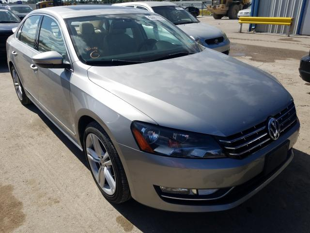 Salvage cars for sale from Copart Riverview, FL: 2012 Volkswagen Passat SEL