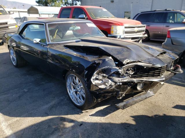 Salvage cars for sale from Copart Rancho Cucamonga, CA: 1969 Chevrolet Camaro