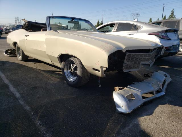 Salvage cars for sale from Copart Rancho Cucamonga, CA: 1971 Buick Skylark