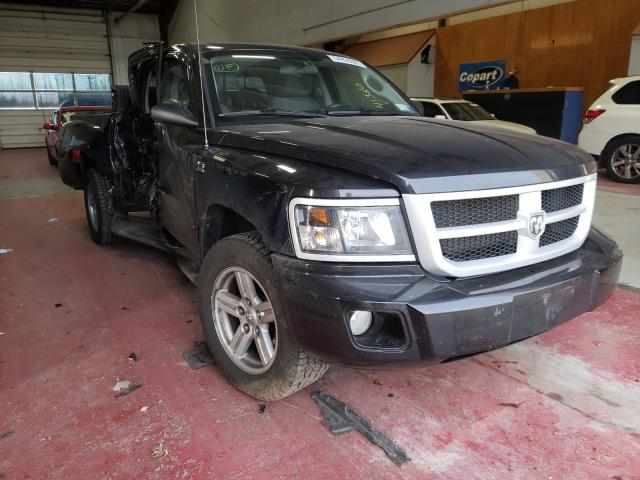 Dodge Dakota SXT salvage cars for sale: 2010 Dodge Dakota SXT
