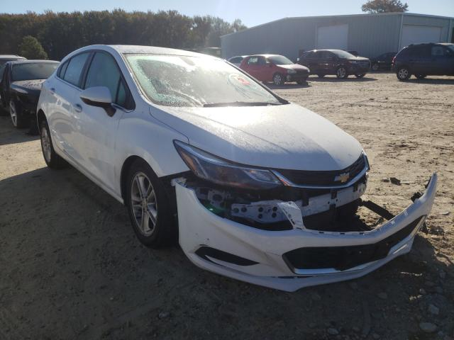 Salvage cars for sale from Copart Hampton, VA: 2018 Chevrolet Cruze LT