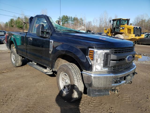 Salvage cars for sale from Copart Lyman, ME: 2018 Ford F350 Super
