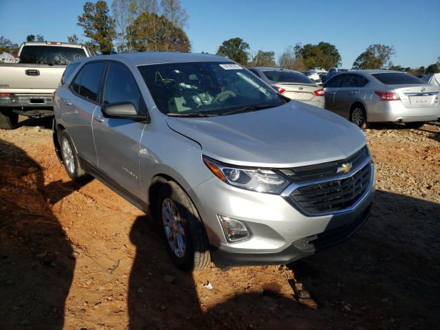 Chevrolet Equinox LS salvage cars for sale: 2020 Chevrolet Equinox LS