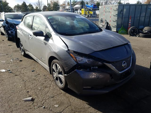 Salvage cars for sale from Copart Brighton, CO: 2019 Nissan Leaf S PLU