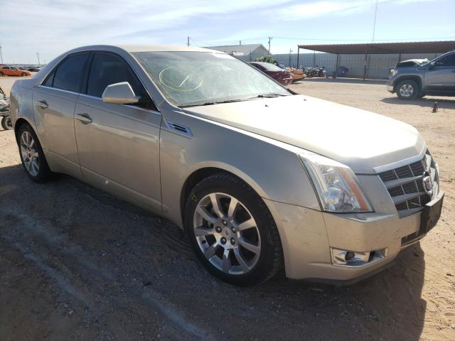 Salvage cars for sale from Copart Andrews, TX: 2008 Cadillac CTS HI FEA