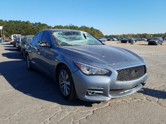 Infiniti Q50 Base salvage cars for sale: 2015 Infiniti Q50 Base