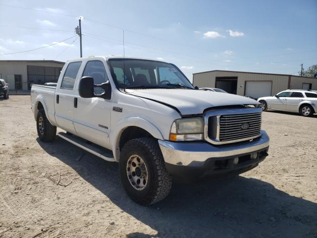Salvage cars for sale from Copart Temple, TX: 2002 Ford F250 Super