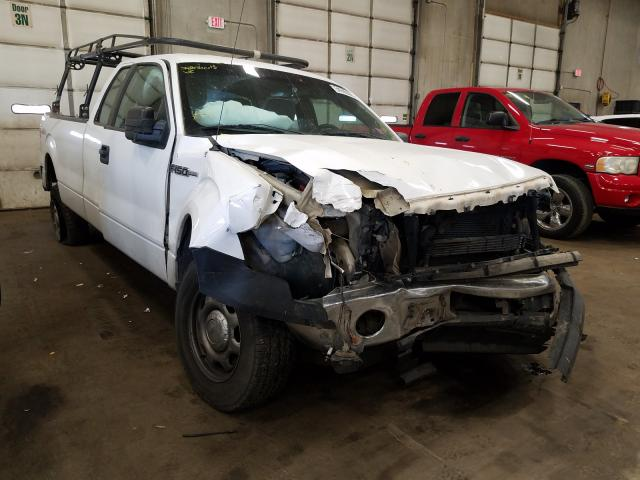 Salvage cars for sale from Copart Blaine, MN: 2014 Ford F150 Super