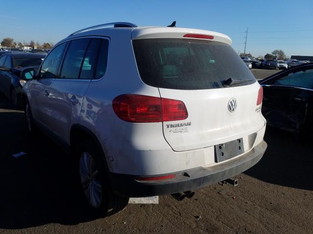 купить 2012 Volkswagen Tiguan S 2.0L WVGBV7AX3CW578802