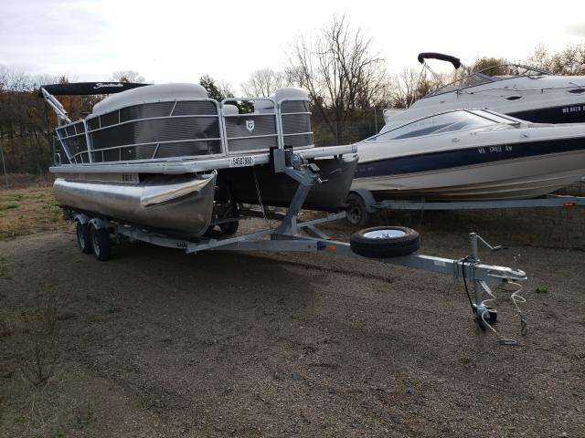 Salvage 2017 Sweetwater PONTOON for sale