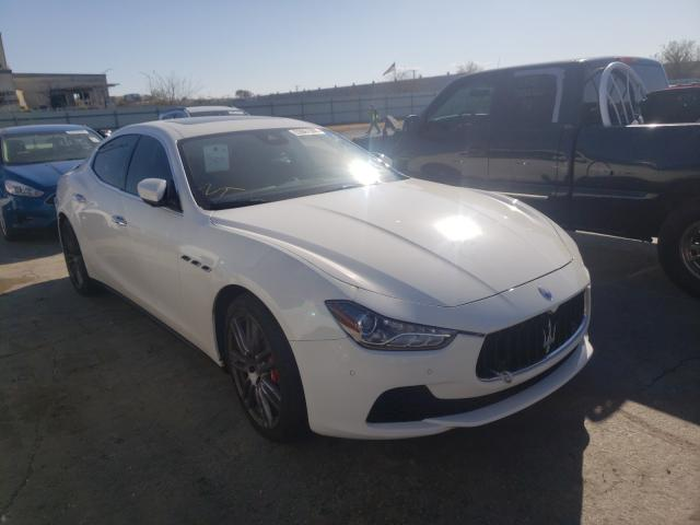 Maserati Ghibli S salvage cars for sale: 2017 Maserati Ghibli S
