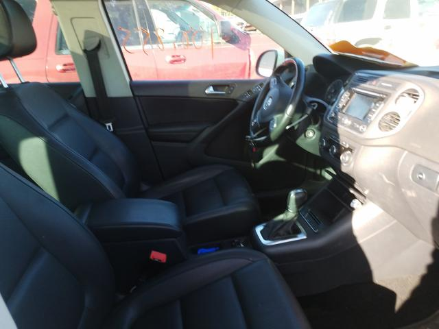 пригнать из сша 2012 Volkswagen Tiguan S 2.0L WVGBV7AX3CW578802