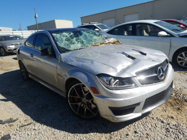 Salvage cars for sale from Copart Gainesville, GA: 2015 Mercedes-Benz C 63 AMG