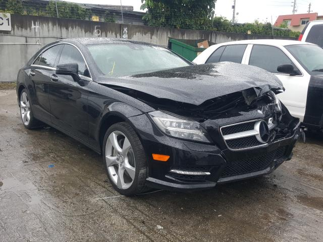 Salvage cars for sale from Copart Opa Locka, FL: 2014 Mercedes-Benz CLS 550 4M
