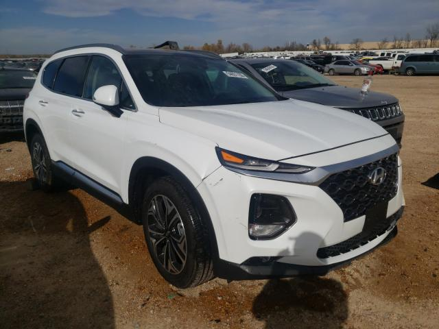Salvage cars for sale from Copart Bridgeton, MO: 2020 Hyundai Santa FE S