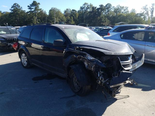 Vehiculos salvage en venta de Copart Savannah, GA: 2017 Dodge Journey SE