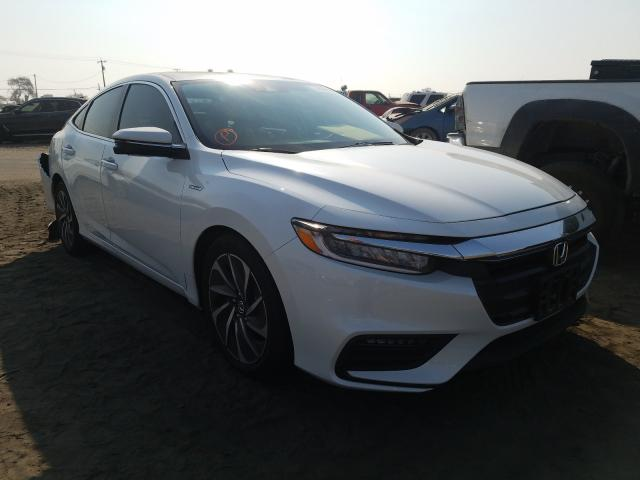 Honda Insight TO salvage cars for sale: 2020 Honda Insight TO