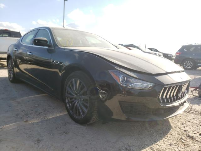 Maserati Ghibli S salvage cars for sale: 2020 Maserati Ghibli S
