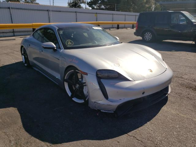 Salvage cars for sale from Copart Van Nuys, CA: 2020 Porsche Taycan 4S