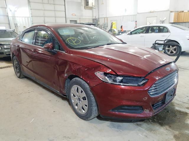 Salvage cars for sale from Copart Columbia, MO: 2014 Ford Fusion S