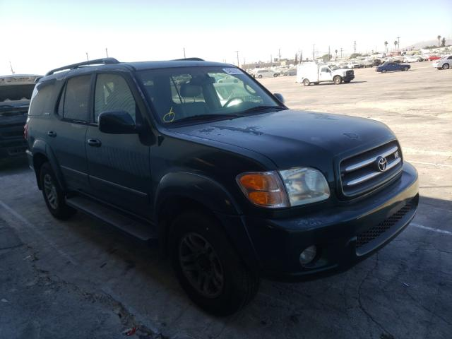 Toyota Sequoia LI salvage cars for sale: 2003 Toyota Sequoia LI