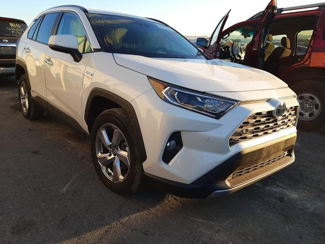 Salvage cars for sale from Copart Las Vegas, NV: 2020 Toyota Rav4 Limited