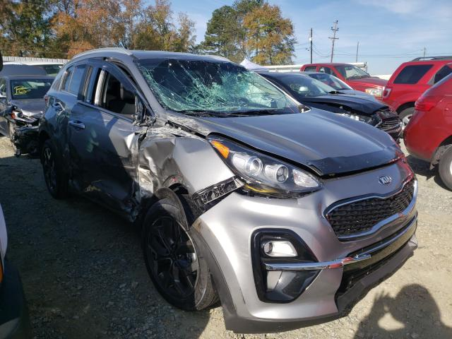 KIA salvage cars for sale: 2021 KIA Sportage E