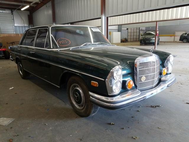 Salvage cars for sale from Copart Mocksville, NC: 1970 Mercedes-Benz 280SEL