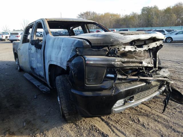 Salvage cars for sale from Copart Pekin, IL: 2020 Chevrolet Silverado