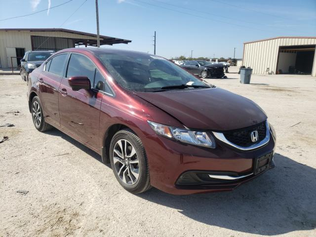 Salvage cars for sale from Copart Temple, TX: 2014 Honda Civic EX