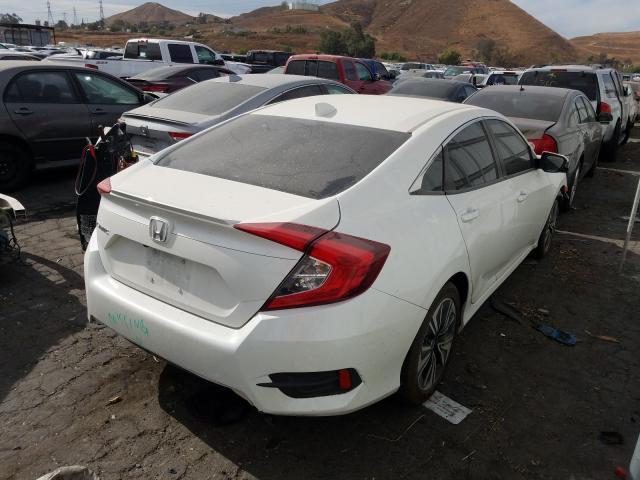 цена в сша 2016 Honda Civic Exl 1.5L 2HGFC1F78GH657373