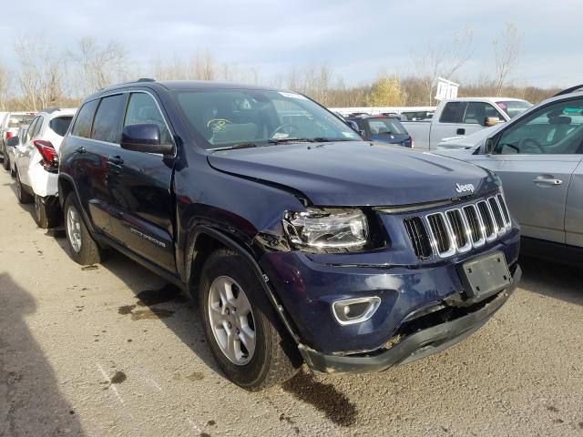 Salvage cars for sale from Copart Angola, NY: 2016 Jeep Grand Cherokee