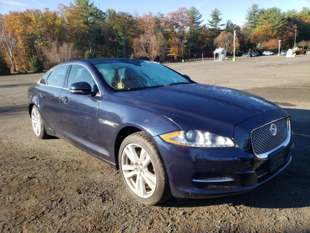 Jaguar salvage cars for sale: 2013 Jaguar XJL Portfo