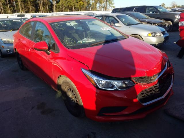 Salvage cars for sale from Copart Dunn, NC: 2017 Chevrolet Cruze LS