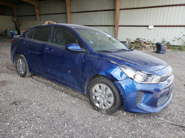 KIA Rio LX salvage cars for sale: 2018 KIA Rio LX