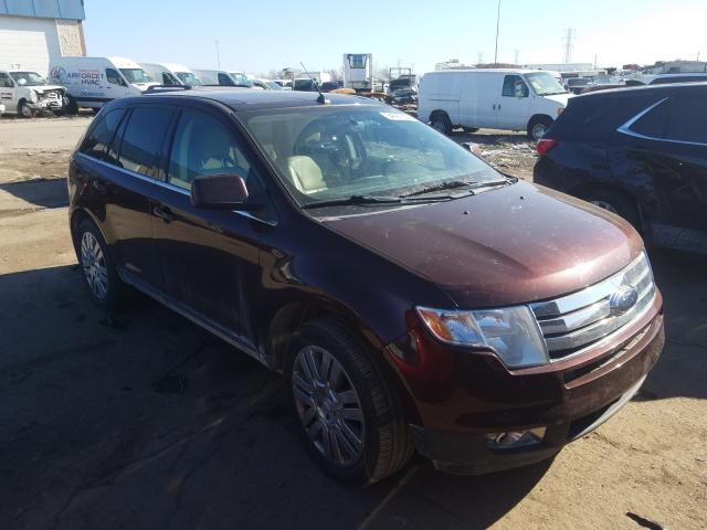 Salvage cars for sale from Copart Woodhaven, MI: 2010 Ford Edge Limited