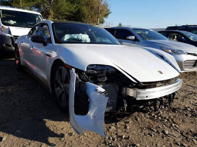 Porsche Taycan 4S salvage cars for sale: 2020 Porsche Taycan 4S