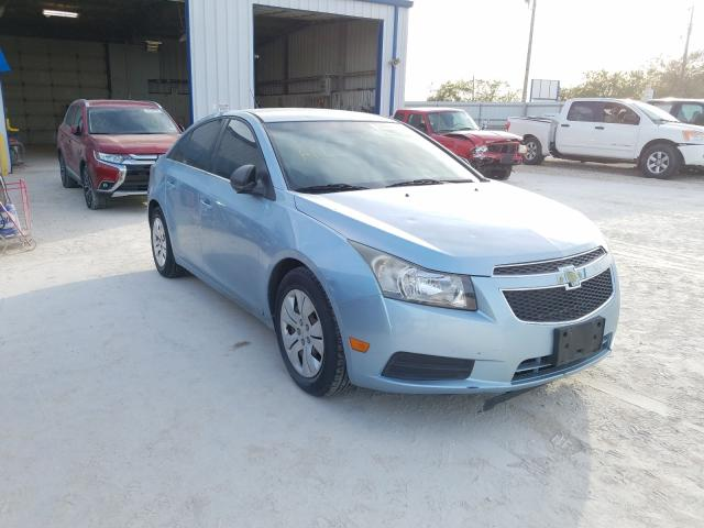 Salvage cars for sale from Copart Abilene, TX: 2012 Chevrolet Cruze LS