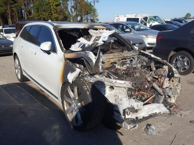 Salvage cars for sale at Dunn, NC auction: 2018 Volvo V90 T6 INS