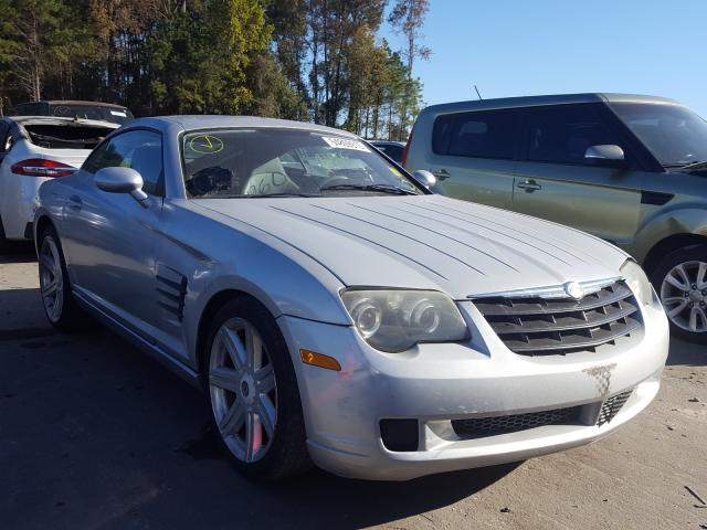 Salvage cars for sale from Copart Dunn, NC: 2005 Chrysler Crossfire