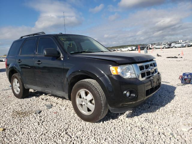 Salvage cars for sale from Copart New Braunfels, TX: 2011 Ford Escape XLT